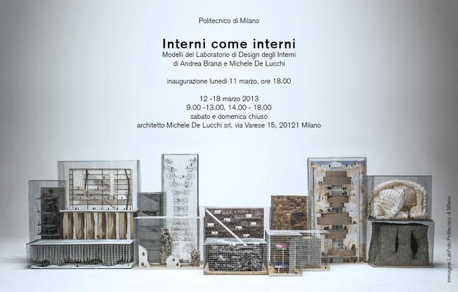 Interni come interni michele de lucchi artworks - Architetto interni milano ...