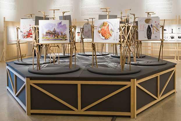 La triennale di milano michele de lucchi artworks for Viale alemagna 6 milano